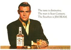 Sean Connery and Jim Beam