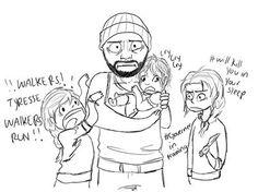 Tyreese et les filles. Oups ! [Photo du jour]