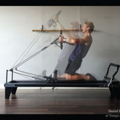 """Tempo Pilates trainer Daniel le Roux's fitness philosophy – """"Nothing will work unless you do."""" www.tempopilates.com"""