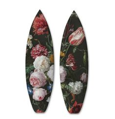 Surfboards and Skateboards Covered with Classical Paintings – Fubiz Media