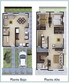 My ideas: House plans architecture layout Ideas Sims House Plans, Duplex House Plans, Dream House Plans, Small House Plans, House Floor Plans, Layouts Casa, House Layouts, Small House Design, Modern House Design