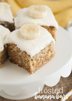 Banana Bar Treats