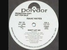 """Isaac Hayes """"Don't Let Go"""" (12-inch version, 1979)"""