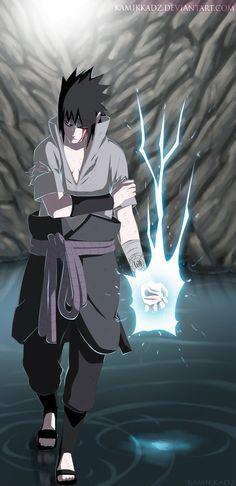 Sasuke Uchiha 485 by kamikkadz - Naruto Wallpaper Naruto Shippuden, Naruto Shippuden Sasuke, Naruto Kakashi, Naruto Wallpaper, Boruto, Sasuke Sarutobi, Sasuke Sharingan, Anime Naruto, Manga Anime