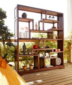 biblioth que cercle lhassa palissandre estanter as. Black Bedroom Furniture Sets. Home Design Ideas