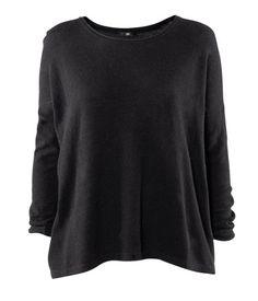 "H&M; | Sweater in ""Black"" - StyleSays"