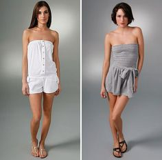 terry cloth, rompers