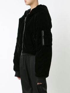 1e6346b650ff PUMA Fenty X Rihanna Velvet Cropped Bomber Jacket Coat Womens 573229 Ladies  for sale online