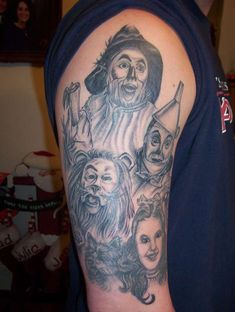 The Wonderful Wizard Of Oz Tattoo