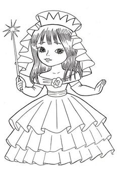 fal | VK Dog Coloring Page, Coloring Pages For Girls, Coloring Book Pages, Coloring For Kids, Adult Coloring, Cartoon Drawings, Animal Drawings, Line Art Images, Disney Princess Coloring Pages