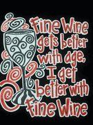 Fine Wine tshirt