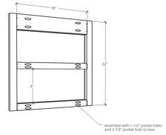 How to Build a DIY Modern Floating Vanity or TV Console Floating Tv Console, Tv Stand Console, Floating Vanity, Diy Furniture Tv Stand, Diy Furniture Plans, Vinyl Record Storage, Tv Storage, Floating Bathroom Vanities, Small Bathroom
