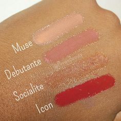 IMAN Alter Ego Lip Shimmers T - B: Muse, Debutante, Socialite, and Icon