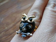New owl ring to shop, $6.99