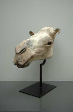 "Quentin Garel, Chameau, 2012, Bronze, 26"" x 23"" x 13¾"" #art #contemporary #sculpture #axelle #camel #animal"