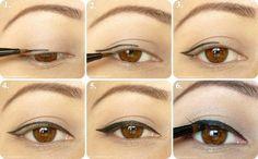 Cat eye liner Tutorial