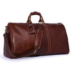 Leathario Genuine Leather Overnight Travel Duffle Bags for Men  http://www.alltravelbag.com/leathario-genuine-leather-overnight-travel-duffle-bags-for-men/