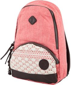 Roxy Rose Great Outdoors Backpack from Tilly's Teen Girl Outfits, Kids Outfits, Backpack Bags, Fashion Backpack, Cute Backpacks, Cute Bags, Leather Tassel, Purse Wallet, Things To Buy