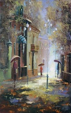 Rainy Day - art by Sergey Boyev
