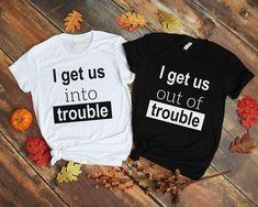 Best Friend T Shirts, Best Friend Outfits, Sister Shirts, Best Friend Matching Shirts, Family Shirts, Bff Goals, Best Friend Goals, Sorority Shirts, Christian Shirts