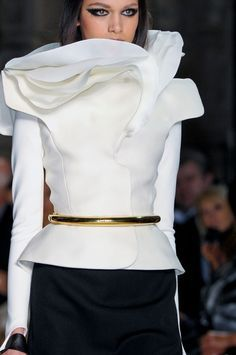 couture white blouse - Google Search