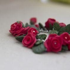 Náramek - Rudé růže / Zboží prodejce Anna Concord | Fler.cz