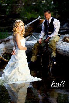 Wedding - Fishing by Darren Hull, via Flickr