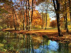 Stunning M nchen Englischer Garten Herbst