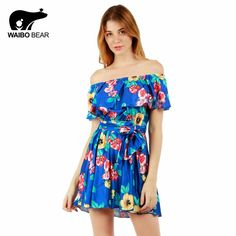 Women Strapless Off Shoulder Pleated Dress Summer Kawaii Party Tunic Sundress Sexy Beach Dresses Femme Vestidos Who like it ? http://www.lady-fashion.net/product/women-2017-strapless-off-shoulder-pleated-dress-summer-kawaii-party-tunic-sundress-sexy-beach-dresses-femme-vestidos-waibo-bear/ #shop #beauty #Woman's fashion #Products