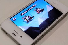 Game for iPhone - Almighty Cow by Célio Silva, via Behance