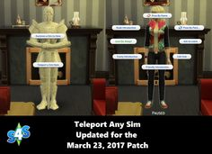 Updated for January 2017 (Toddlers) patch Pose Player This is a mod that will add the option to play poses and animations in game. It adds an interaction to your sims called Pose By Sims Mods, Sims 4 Game Mods, Sims 4 Mac, Sims Cc, Sims 4 Couple Poses, Toddler Poses, Sims 4 Traits, Sims 4 Black Hair, Sims 4 Blog