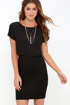 The journey is always fun, but making a grand entrance in the Half the Fun Black Midi Dress is even more of a delight