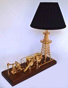 Merveilleux Buy Oilfield Oil U0026 Gas Gold Derrick Decor Lamps Miniature Derrick Oil And  Gas, Rigs