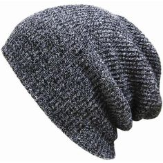 New Unisex Men Women Knit Baggy Beanie Winter Hat Ski Slouchy Chic Knitted  Cap   1.99 588711f16ca9
