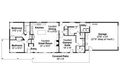 Ranch Homes Floor Plans With Bats on ranch homes with windows, craftsman homes with floor plans, ranch homes with landscaping, split level homes with floor plans,