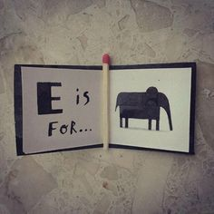 The Littlest Alphabet Book on Behance
