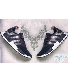 4c993d120 Adidas NMD R1 Runner Nomad Customized With Swarovski  Crystals Adidas Nmd  R1