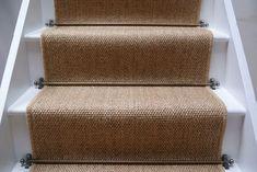Sisal Carpet Stairs Carpet for stairs design Painted Stairs, Wood Stairs, House Stairs, Carpet Stairs, Stair Carpet Runner, Sisal Stair Runner, Stairway Carpet, Carpet Runners For Stairs, Cottage Stairs