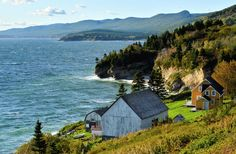 Anse-Blanchette, Forillon National Park of Canada O Canada, Canada Travel, Parks Canada, The Beautiful Country, Beautiful Places, Quebec City, Cool Countries, Vacation Destinations, Vacations