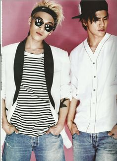 Teen Top's L.Joe & CAP // L'Officiel Hommes Korea
