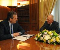 Finanzminister Schäuble und Lew besuchen Athen
