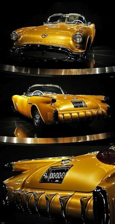 1954 Oldsmobile F-88 concept - yellow car