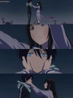 Yato and Hiyori _Noragami Noragami Anime, Manga Anime, Yato And Hiyori, Anime Art, Fanart, Kawaii Anime, Yatori, Otaku, Manhwa