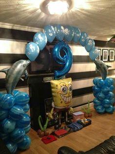 #spongebob #arch #theme #balloons #bellissimoballoons