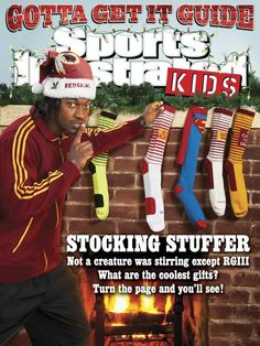 Check out who's on the cover of the latest Sports Illustrated for Kids (Dec. 2012)... Love the socks! // Robert Griffin III, #Baylor University class of 2010