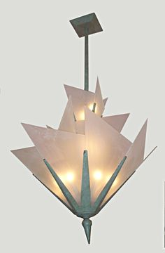 Art Deco Antique Chandelier