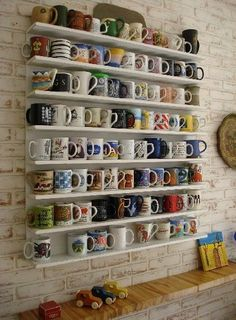 mugs/// this is what I want in my house one day