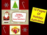Holiday Activities for Busy Teachers
