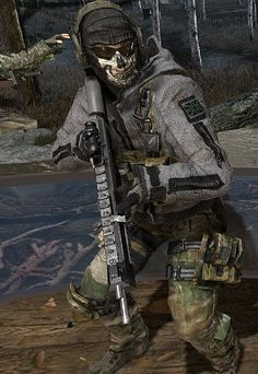 pictures of call of duty modern warfare 2 | Call Of Duty Modern Warfare 2 Ghost Mask