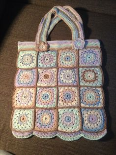 Virkad spetskasse Novita Eco Cotton | Novita knits | Virkade